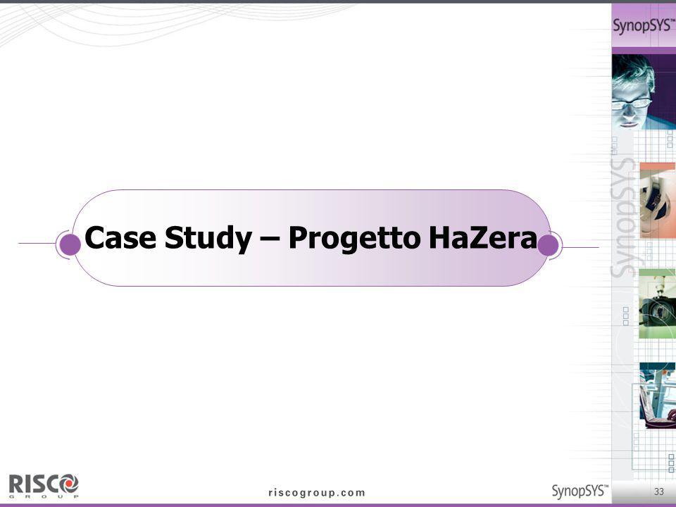 Case Study – Progetto HaZera