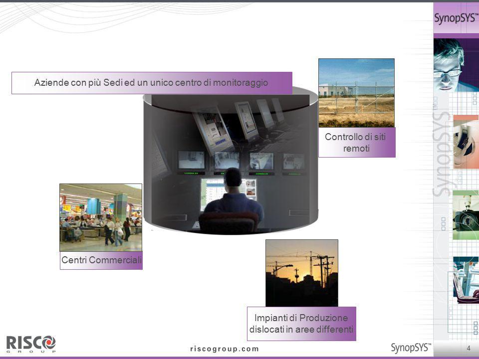 Aziende con più Sedi ed un unico centro di monitoraggio
