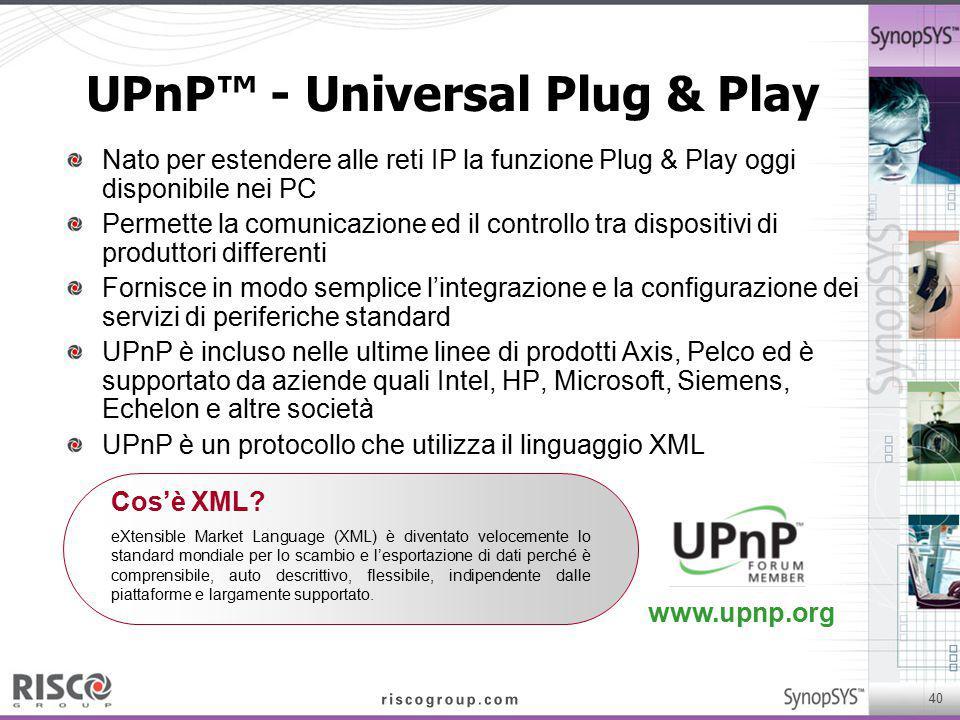 UPnP™ - Universal Plug & Play