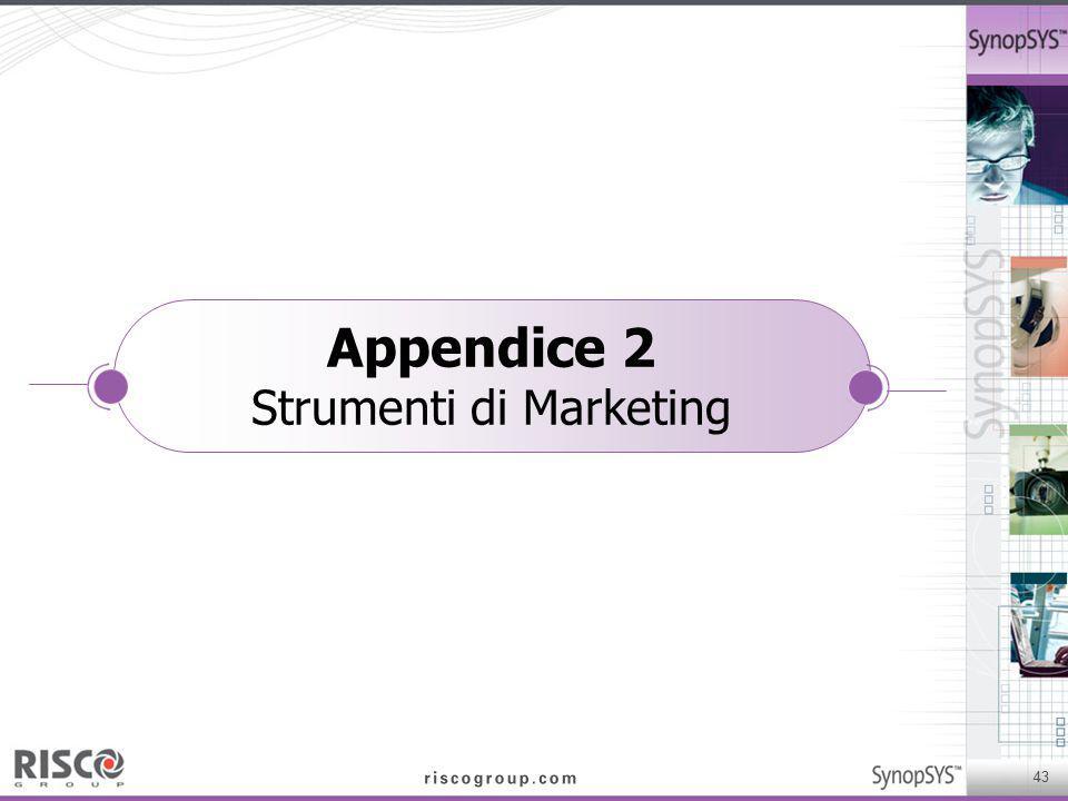 Appendice 2 Strumenti di Marketing