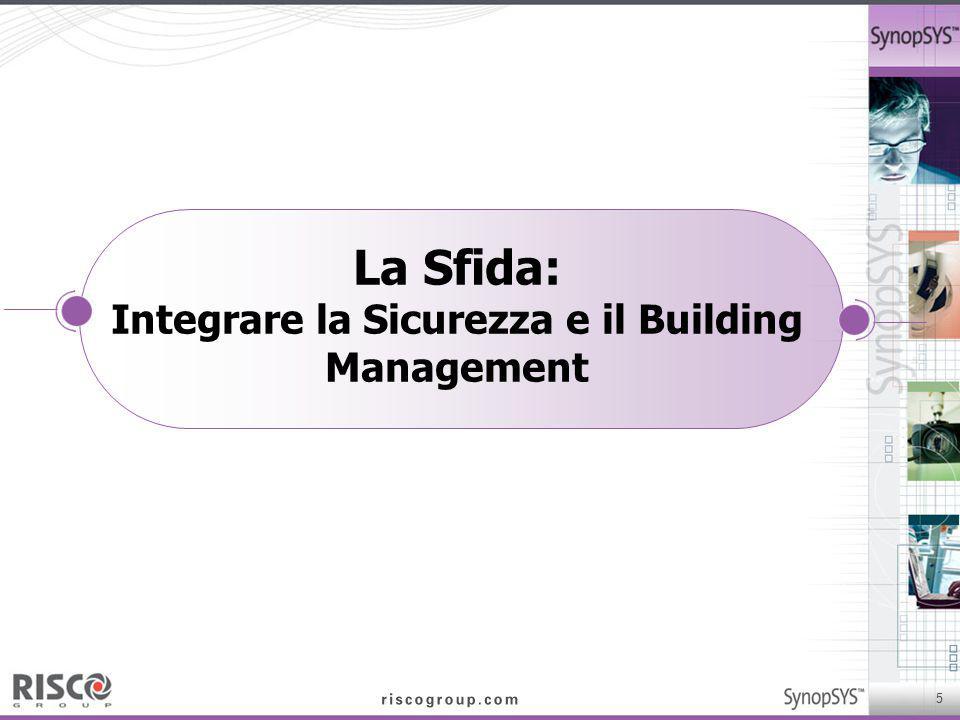 La Sfida: Integrare la Sicurezza e il Building Management