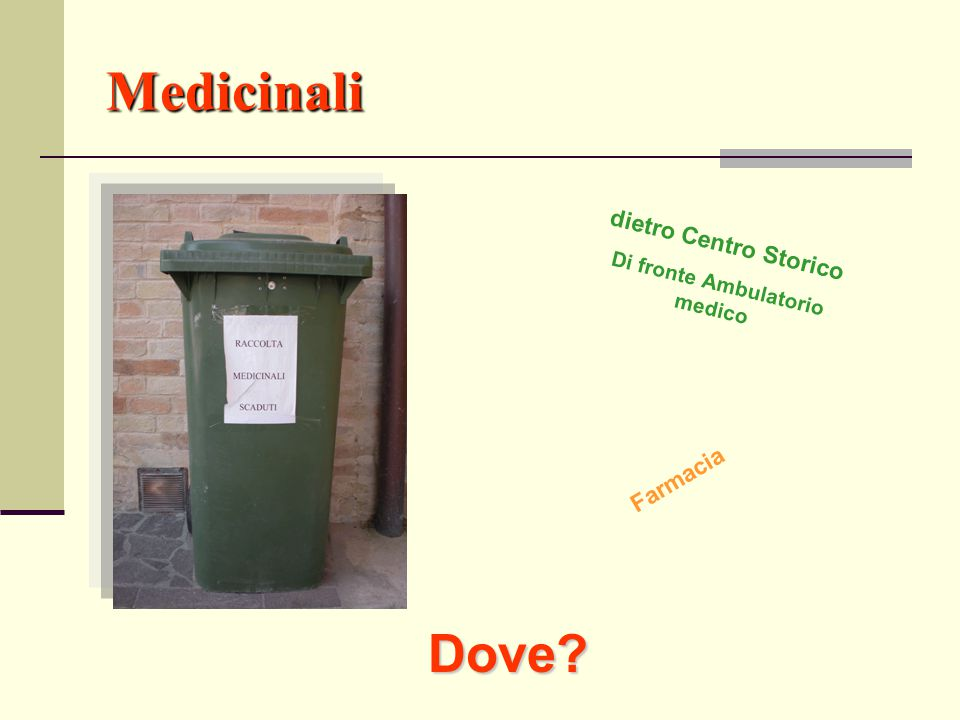 Di fronte Ambulatorio medico