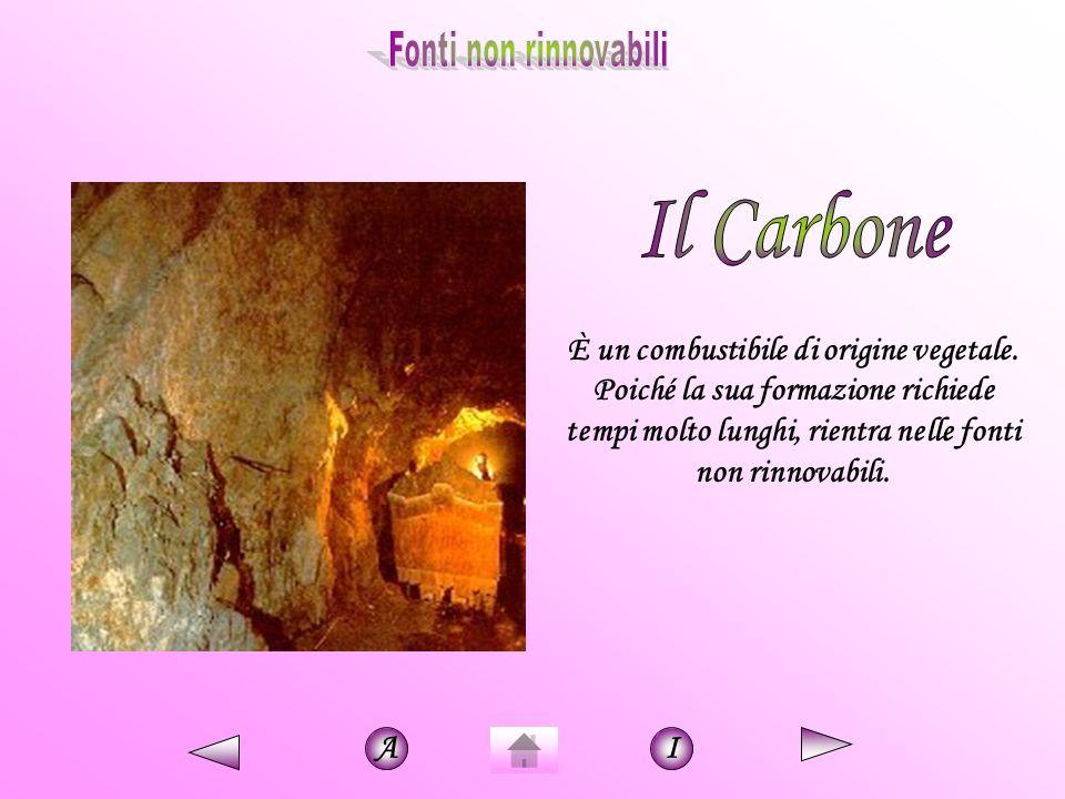 Fonti non rinnovabili Il Carbone.