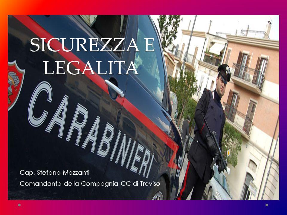 SICUREZZA E LEGALITA' Cap. Stefano Mazzanti