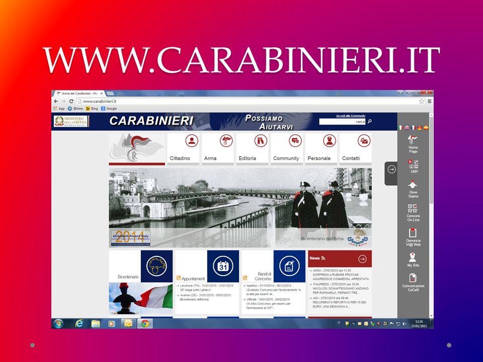 WWW.CARABINIERI.IT