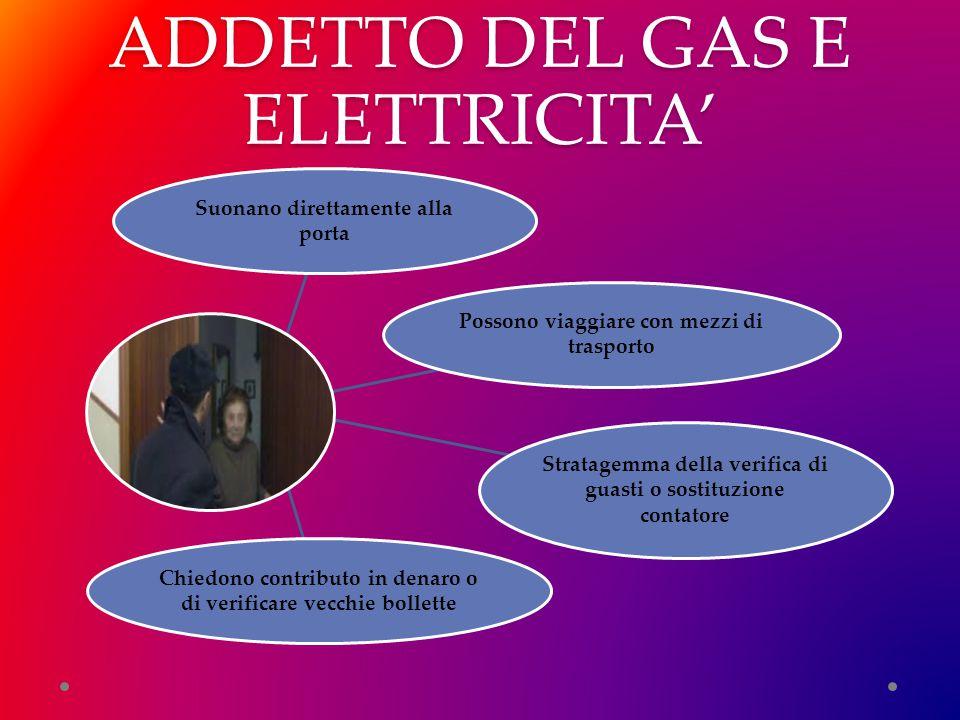 ADDETTO DEL GAS E ELETTRICITA'