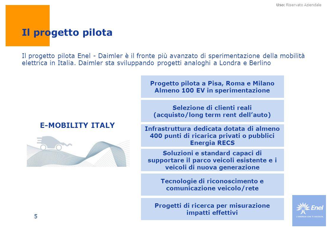 Il progetto pilota E-MOBILITY ITALY