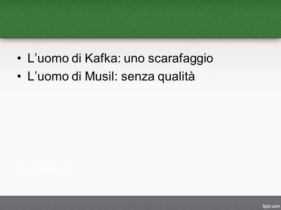 L'uomo di Kafka: uno scarafaggio