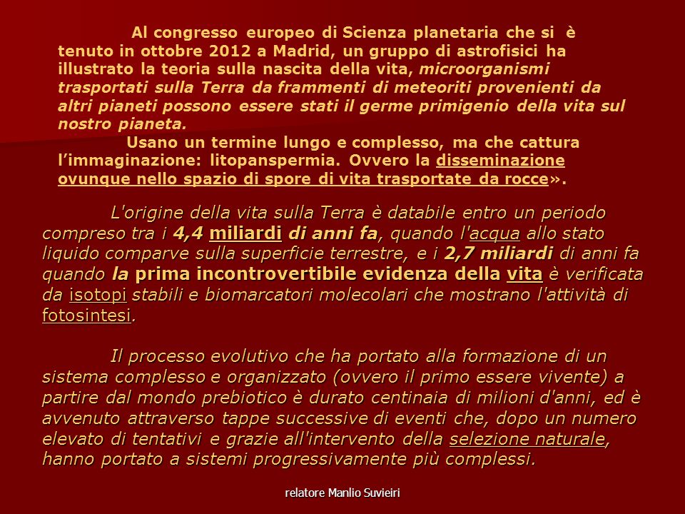relatore Manlio Suvieiri