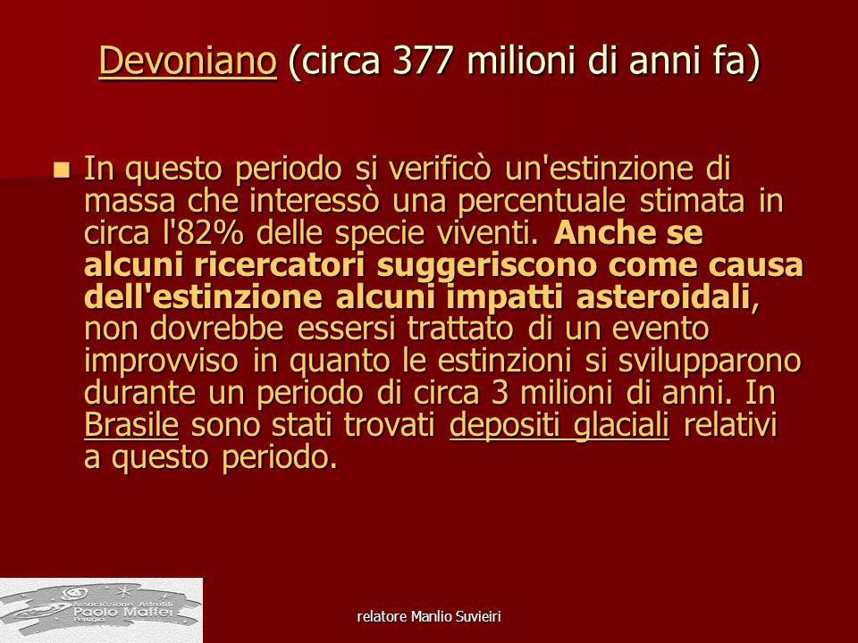 Devoniano (circa 377 milioni di anni fa)