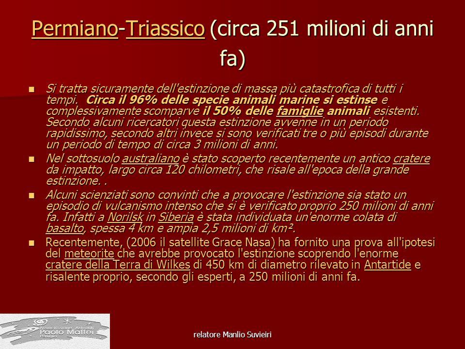 Permiano-Triassico (circa 251 milioni di anni fa)