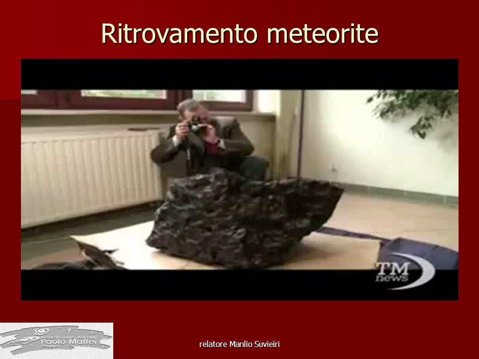 Ritrovamento meteorite