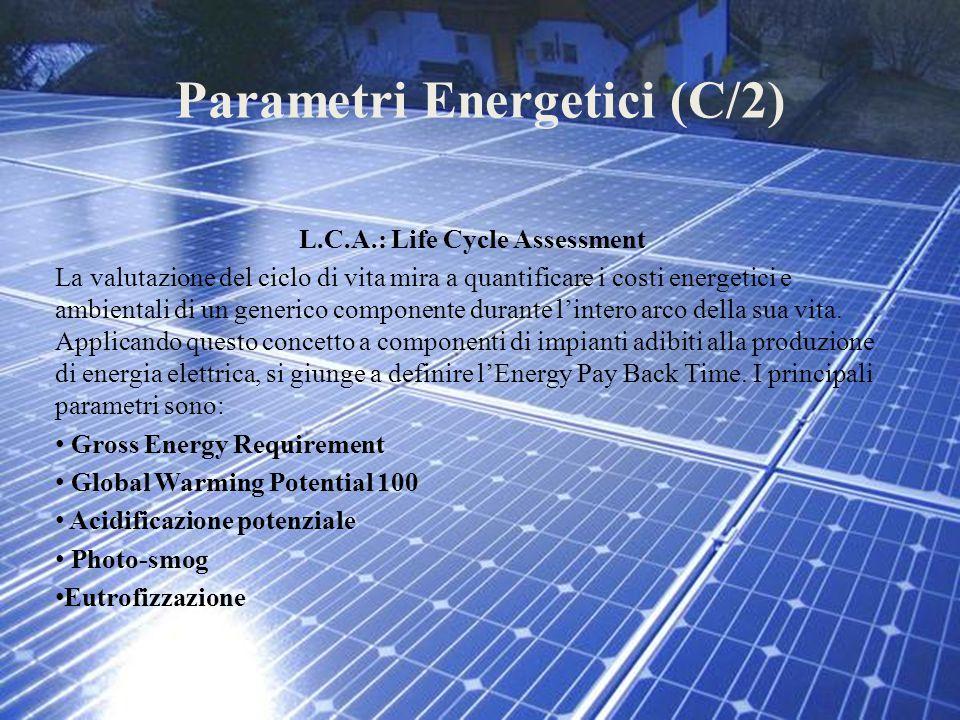 Parametri Energetici (C/2)