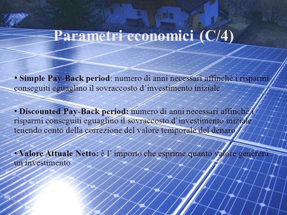 Parametri economici (C/4)