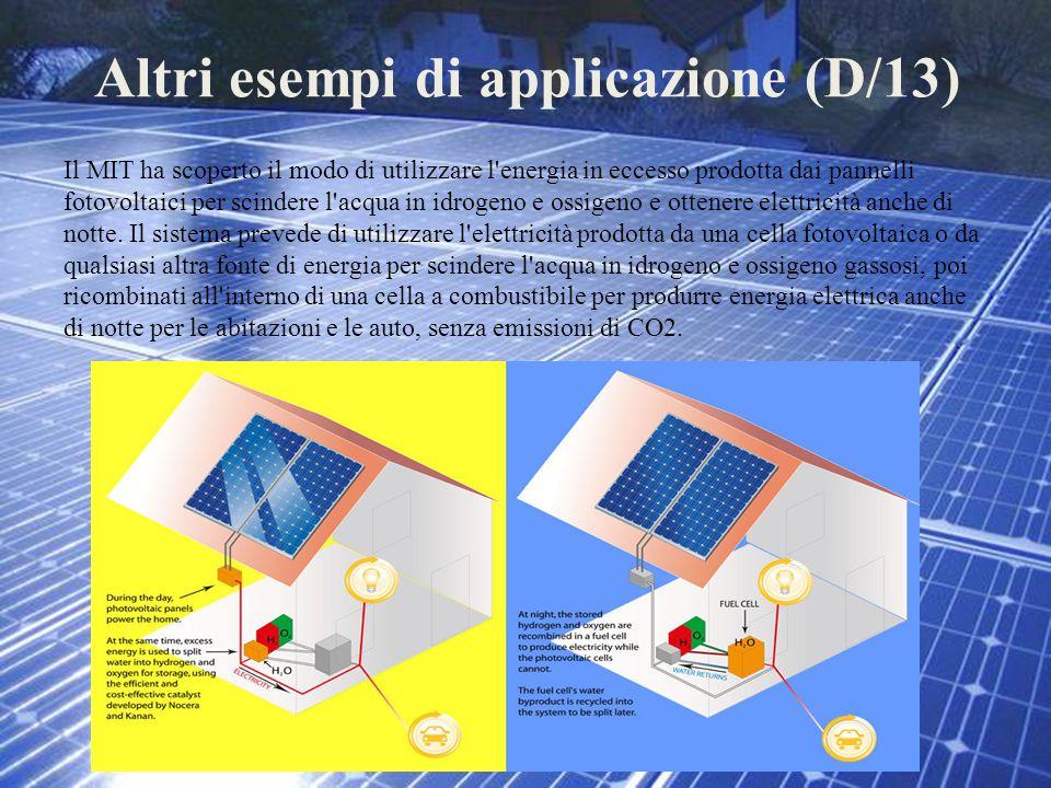 Altri esempi di applicazione (D/13)