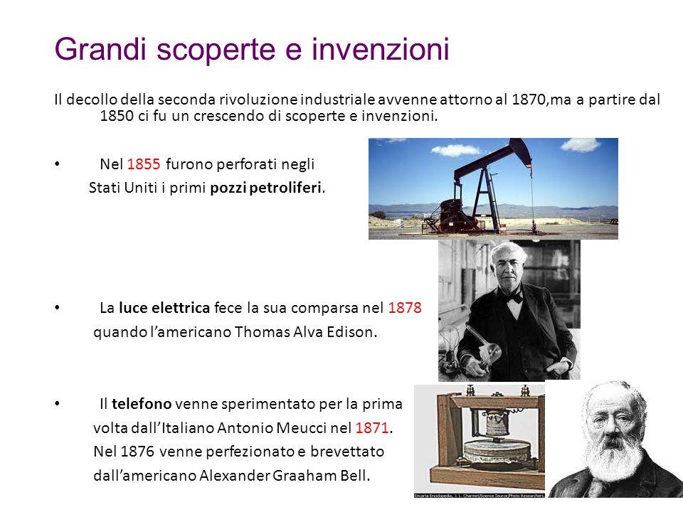 Grandi scoperte e invenzioni