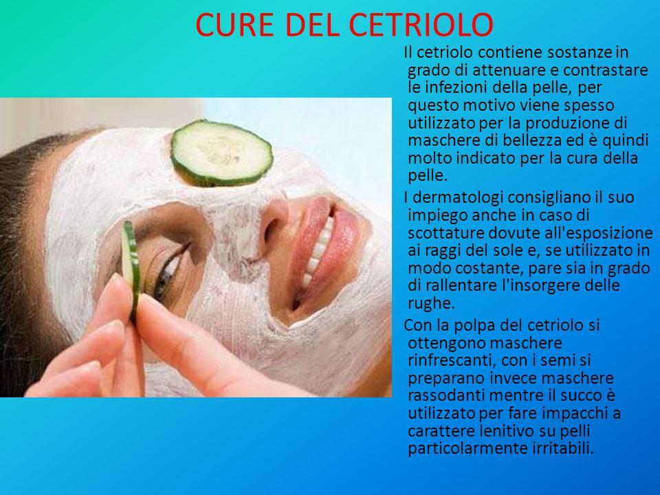 CURE DEL CETRIOLO