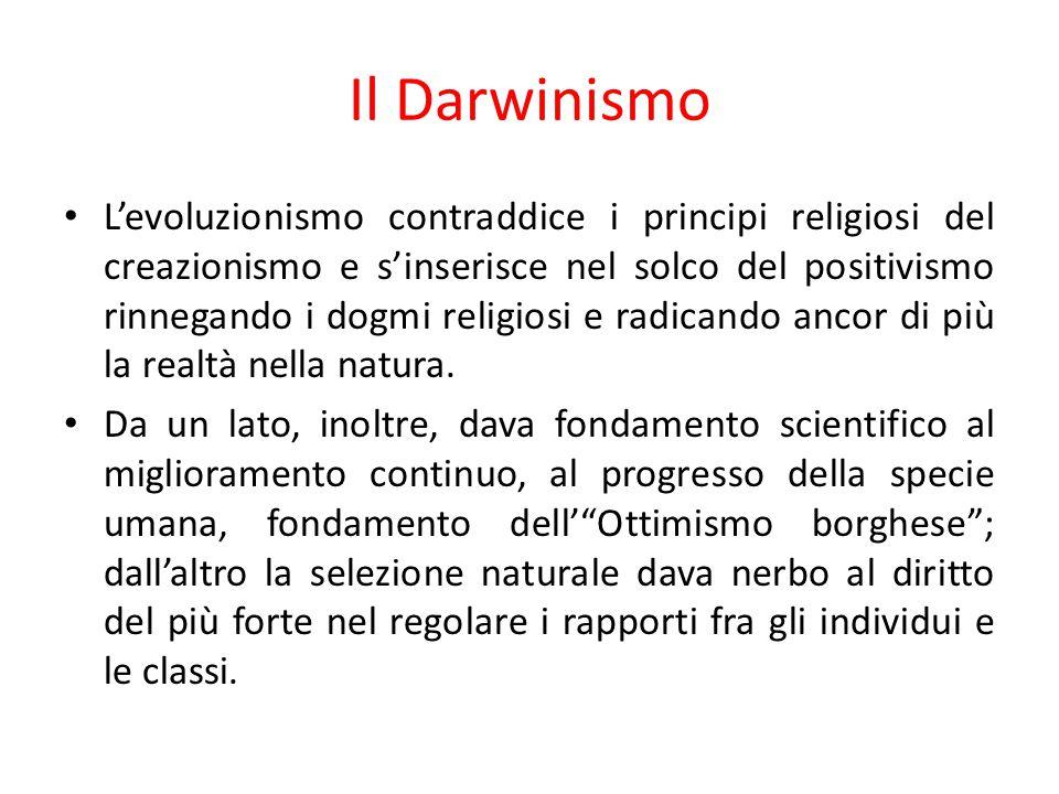 Il Darwinismo