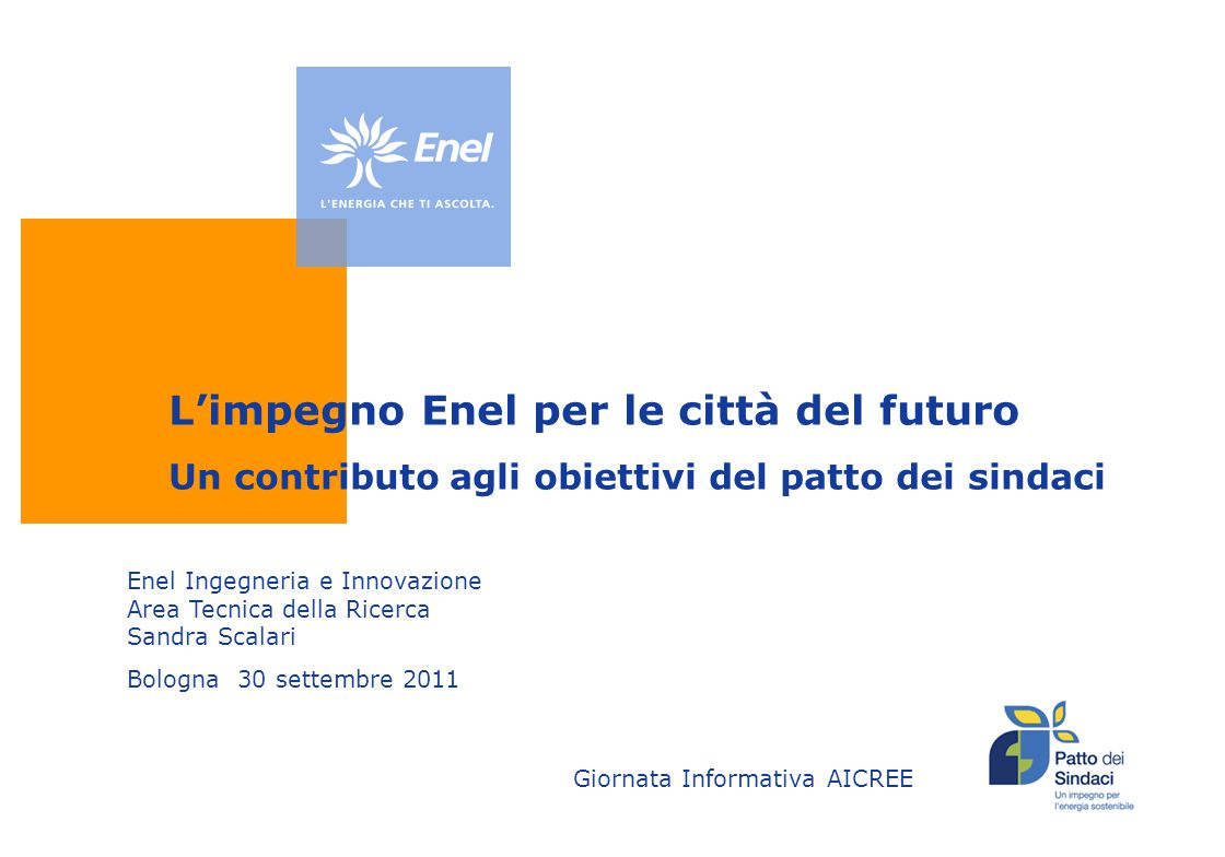 L'impegno Enel per le città del futuro