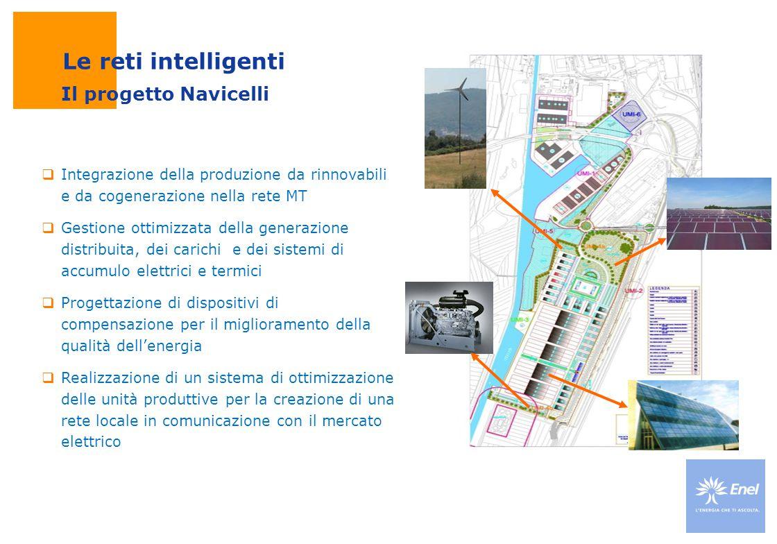 Le reti intelligenti Il progetto Navicelli