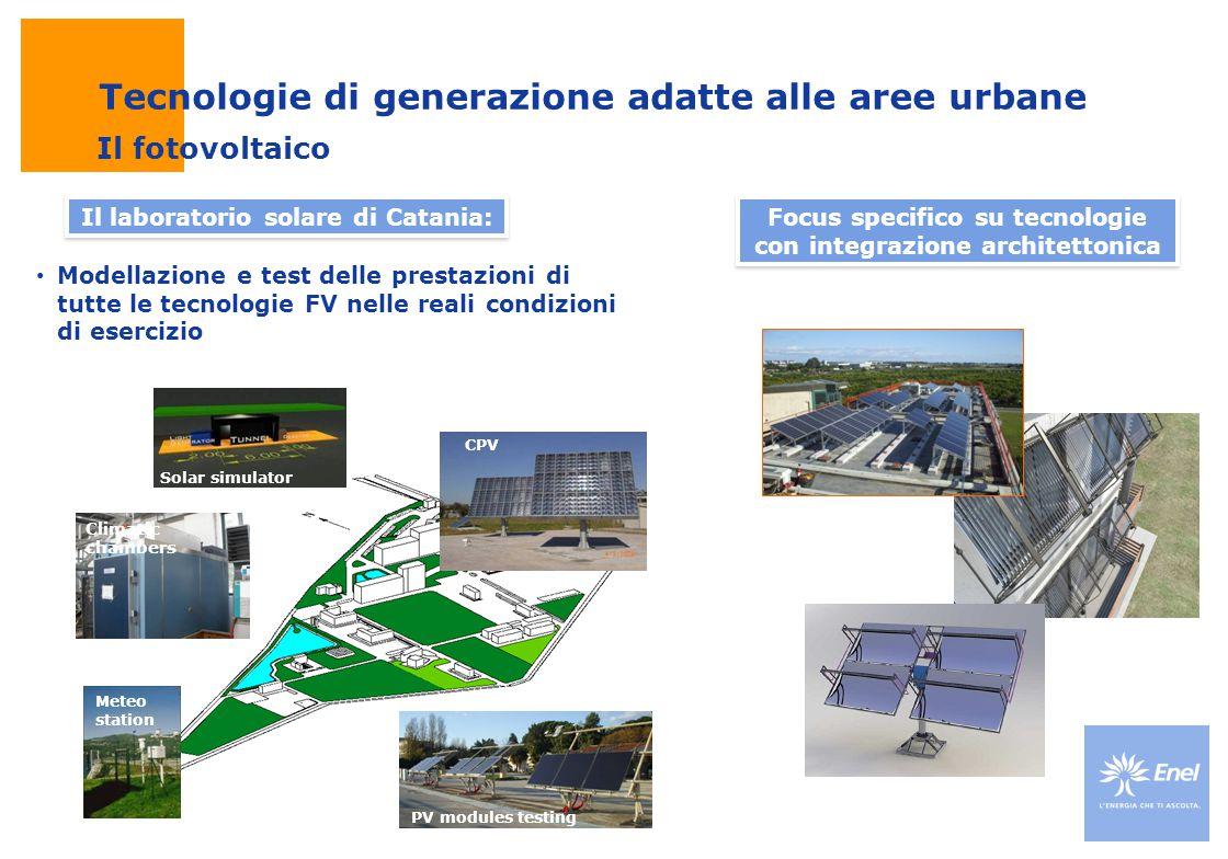 Tecnologie di generazione adatte alle aree urbane
