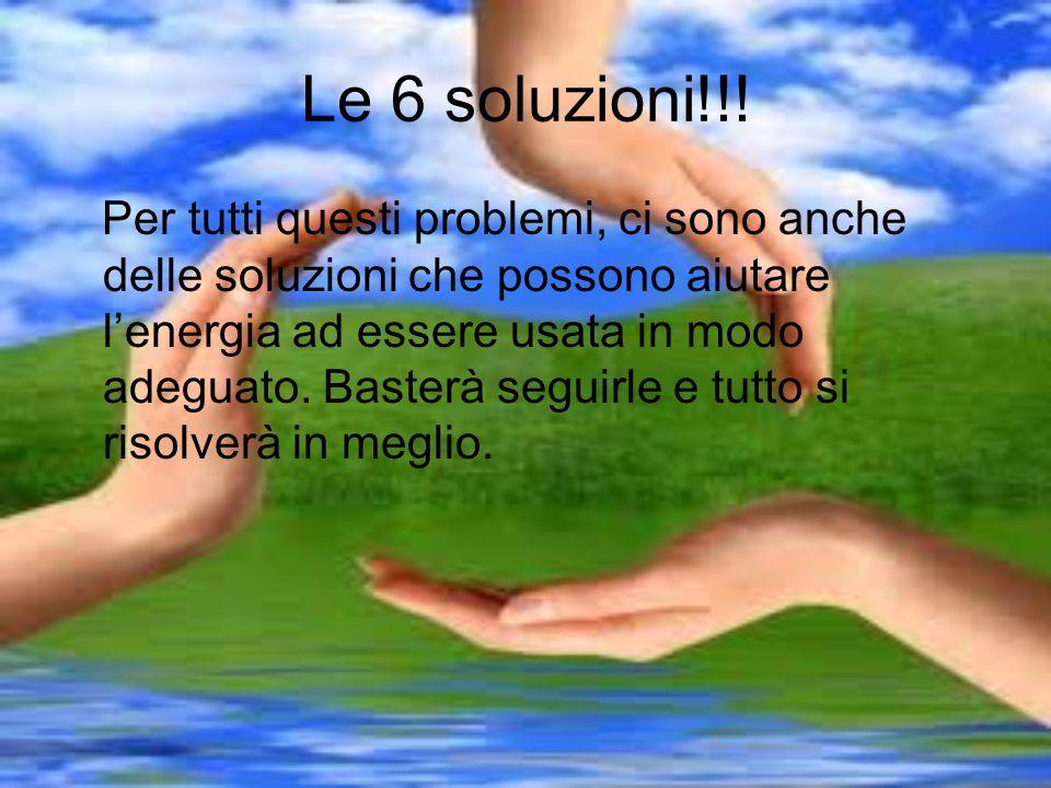 Le 6 soluzioni!!!