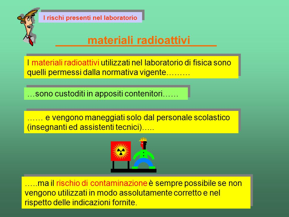 materiali radioattivi
