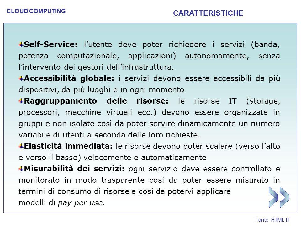 >> CARATTERISTICHE