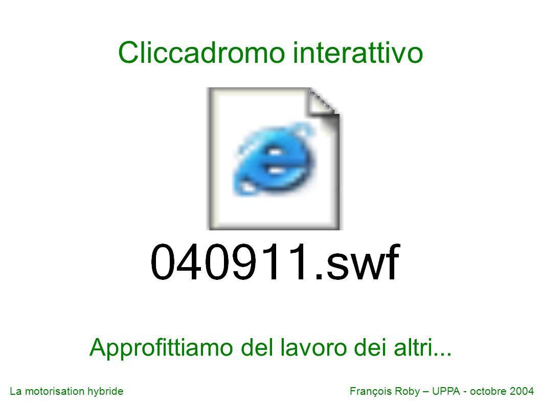 Cliccadromo interattivo