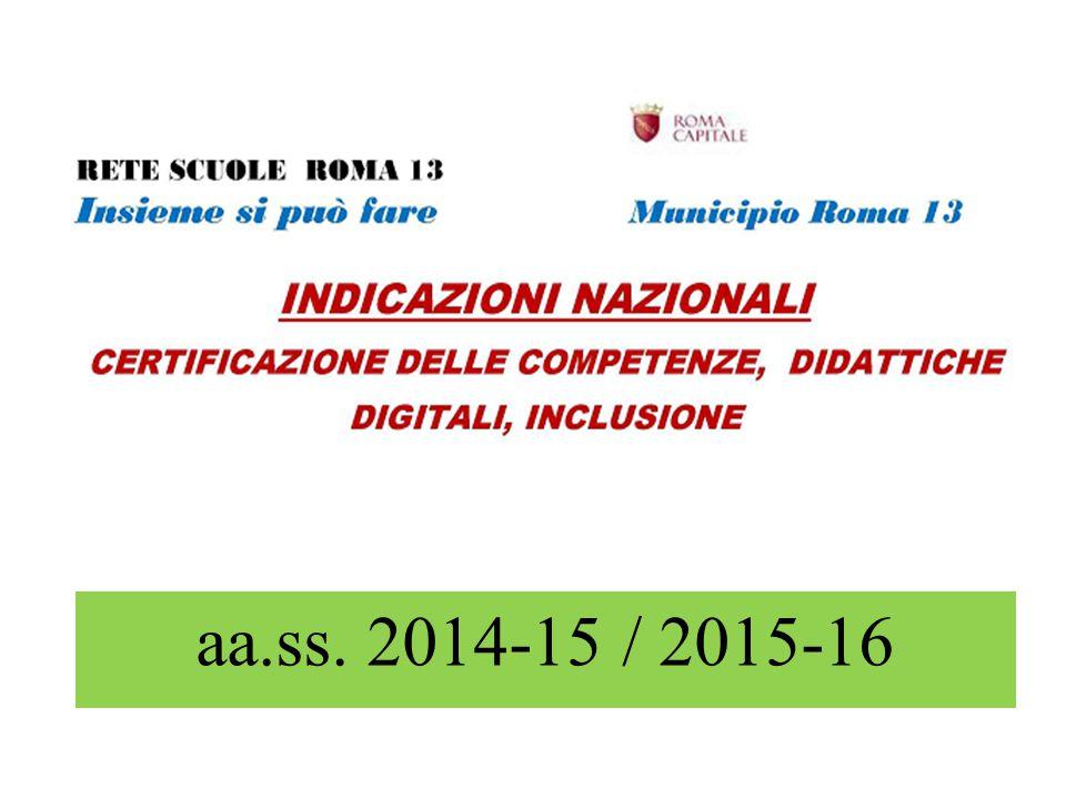 aa.ss. 2014-15 / 2015-16