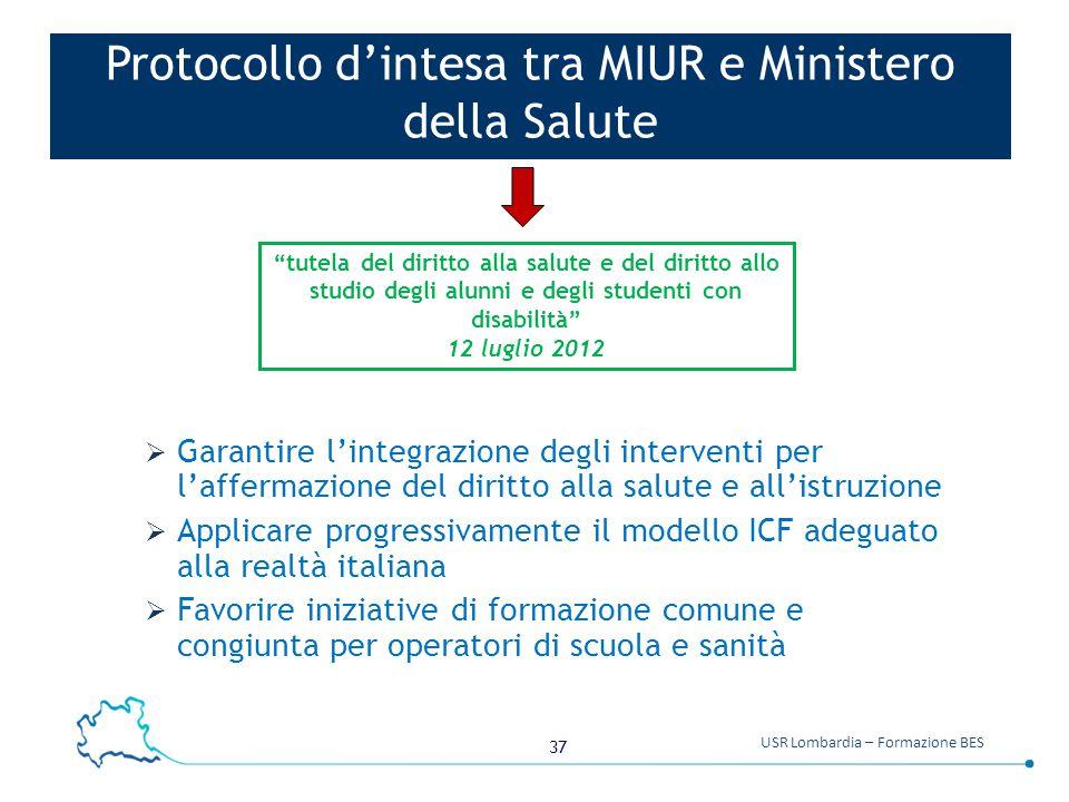 Protocollo d'intesa tra MIUR e Ministero della Salute
