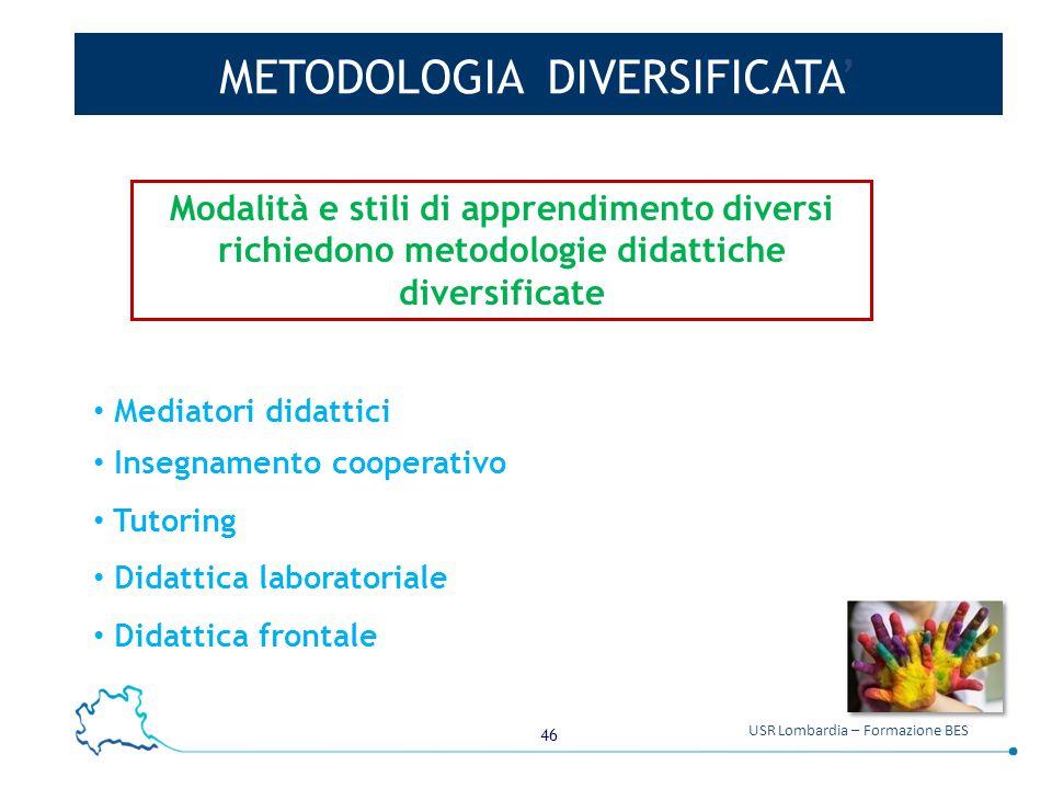 METODOLOGIA DIVERSIFICATA'