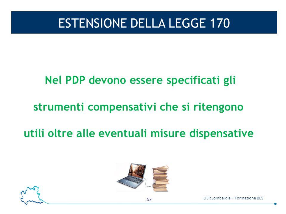 ESTENSIONE DELLA LEGGE 170