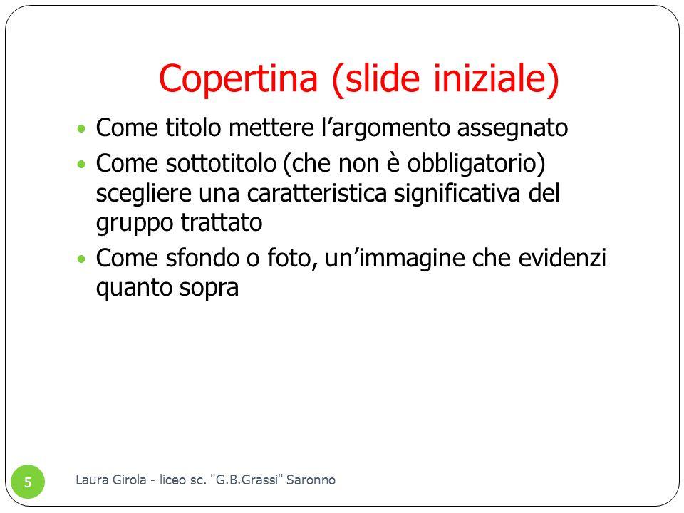 Copertina (slide iniziale)