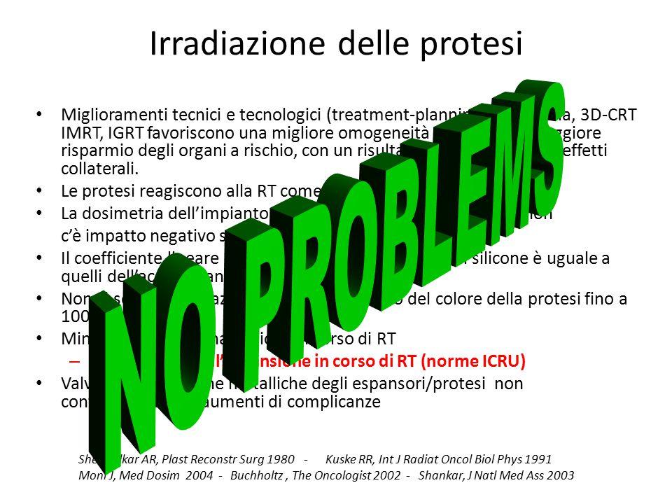 Irradiazione delle protesi