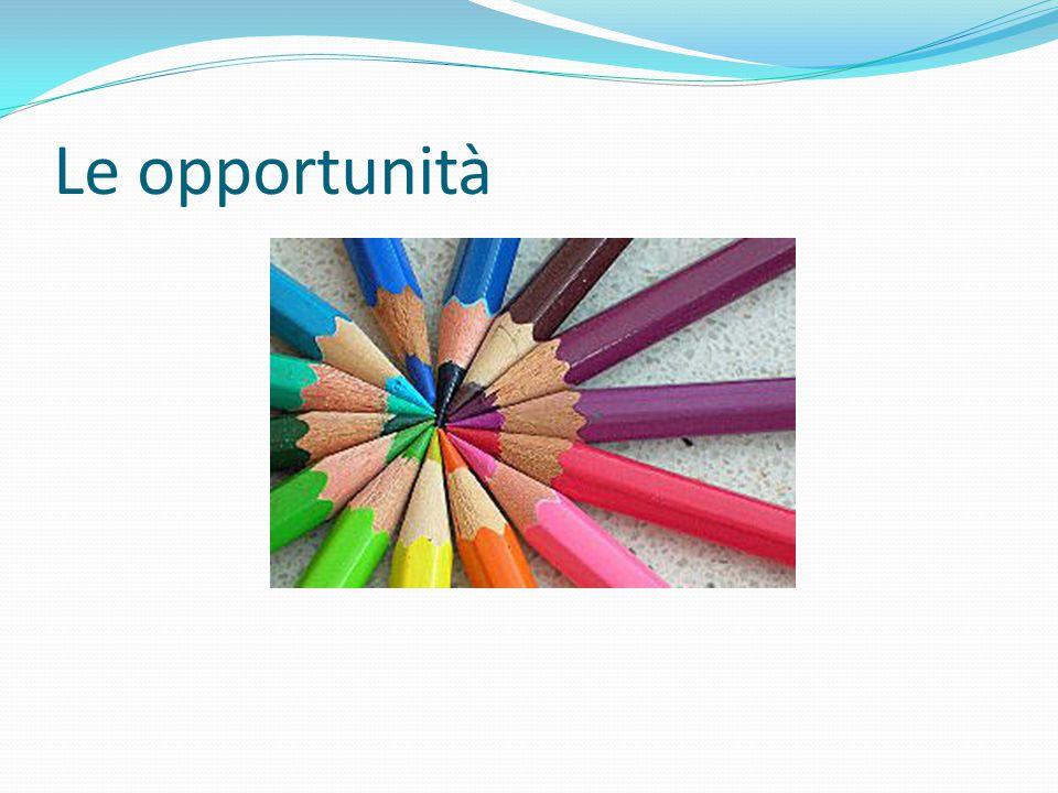 Le opportunità