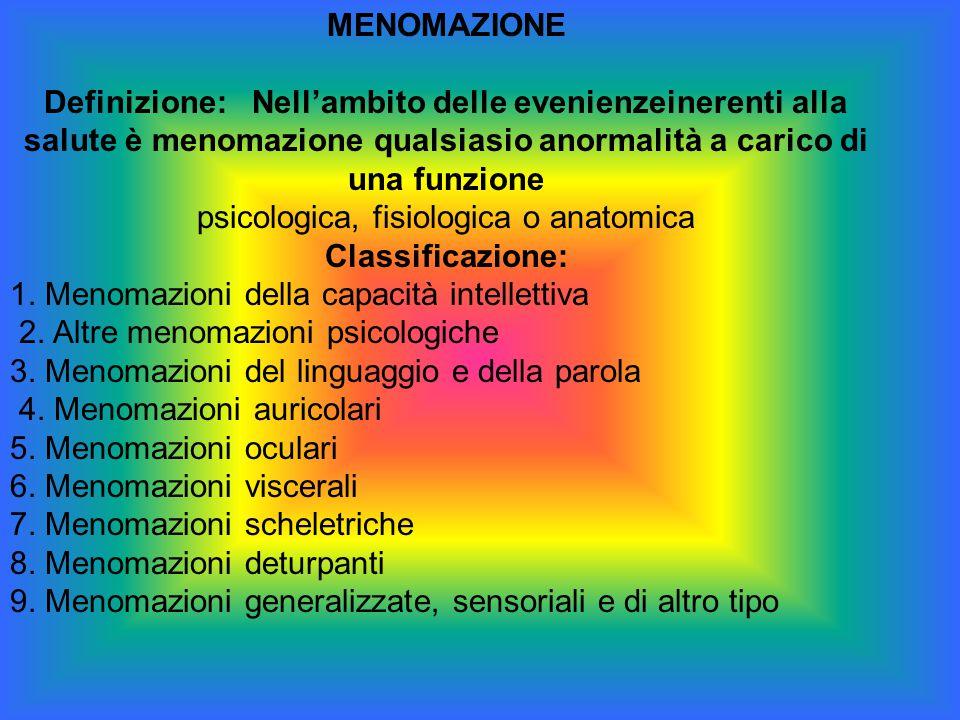 psicologica, fisiologica o anatomica