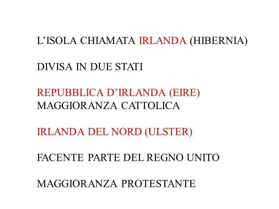 L'ISOLA CHIAMATA IRLANDA (HIBERNIA)