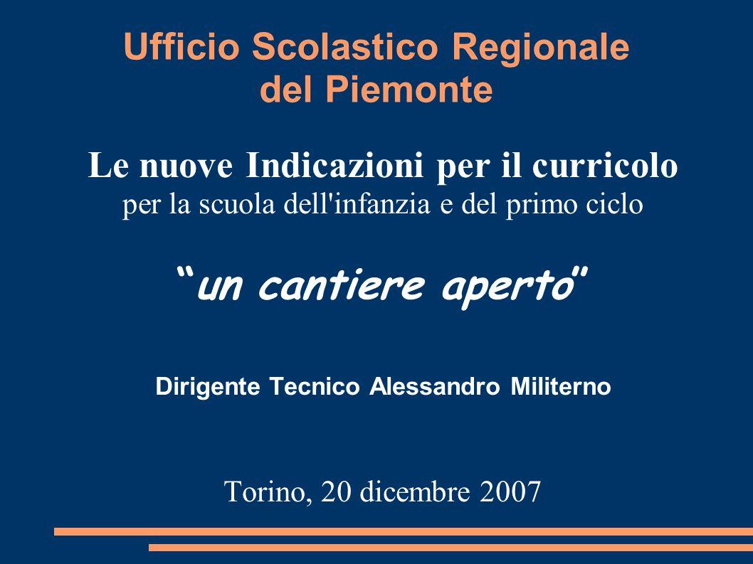 Ufficio Scolastico Regionale del Piemonte