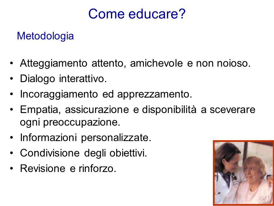 Come educare Metodologia