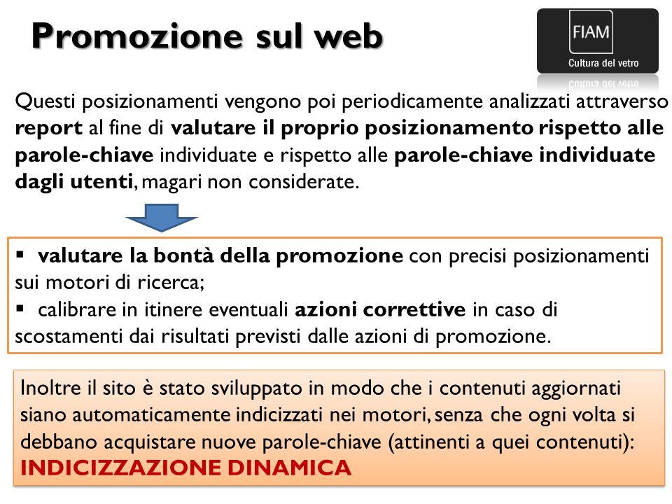 Promozione sul web