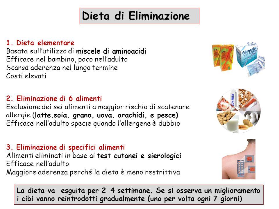 Dieta di Eliminazione 1. Dieta elementare