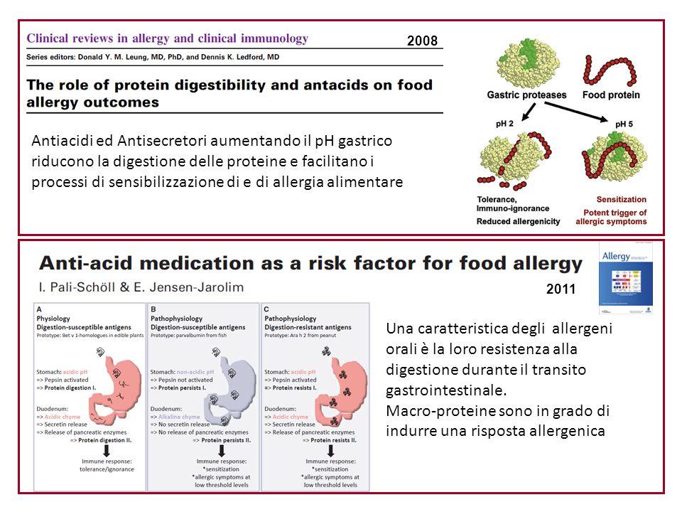 Macro-proteine sono in grado di indurre una risposta allergenica