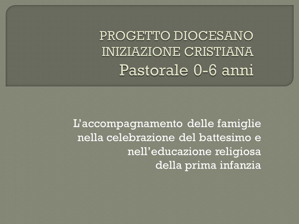 PROGETTO DIOCESANO INIZIAZIONE CRISTIANA Pastorale 0-6 anni