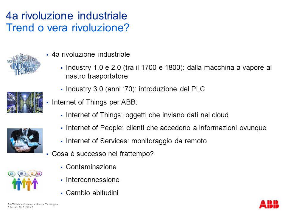 4a rivoluzione industriale
