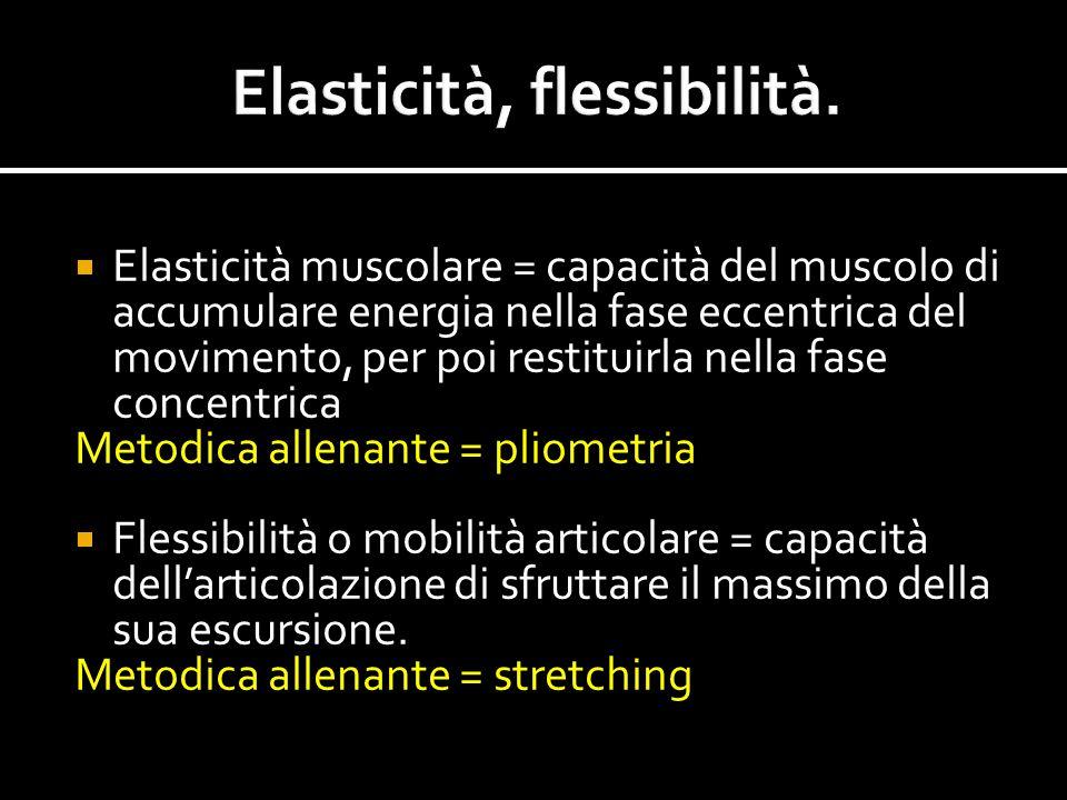 Elasticità, flessibilità.