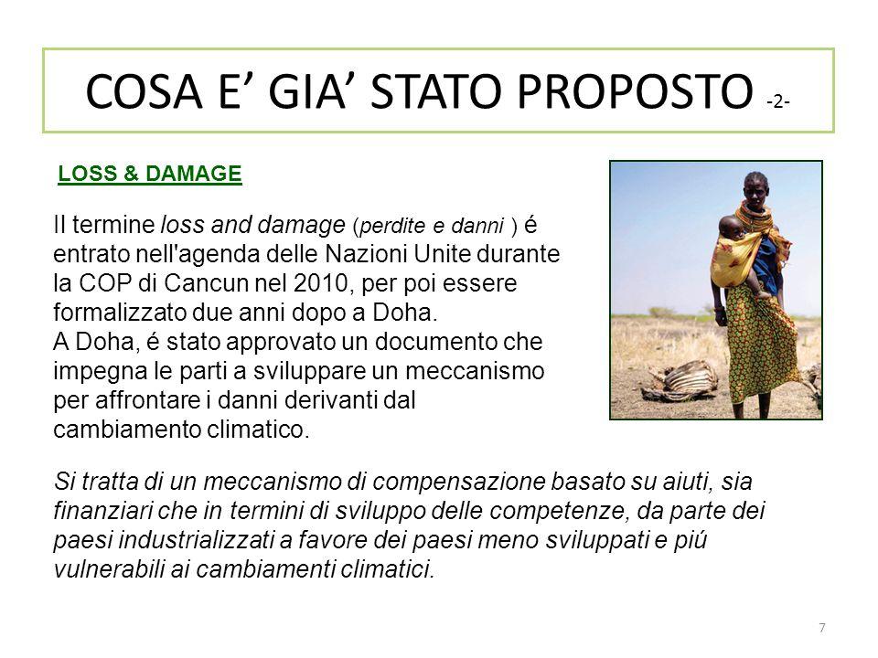 COSA E' GIA' STATO PROPOSTO -2-