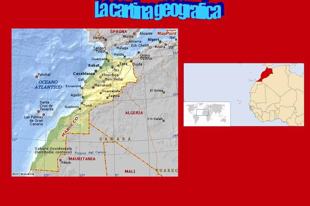 La cartina geografica