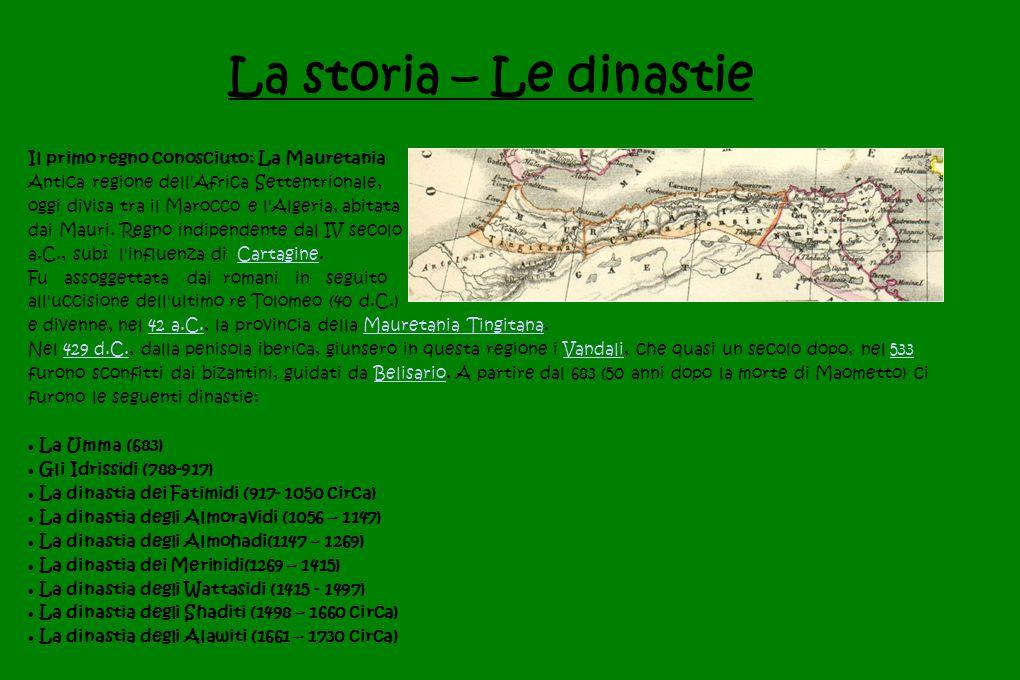 La storia – Le dinastie