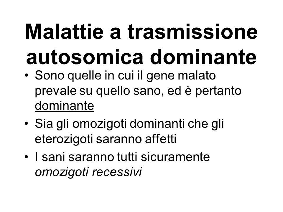 Malattie a trasmissione autosomica dominante